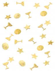 Trio de confettis or