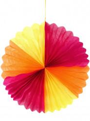 Rosace colorée géante 74 cm