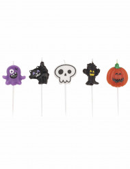 5 bougies Halloween