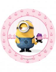 Disque azyme Stuart cupcake Minions™ 20.5 cm