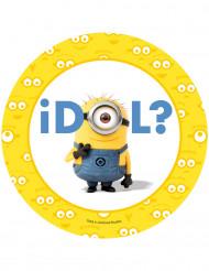 Disque azyme idol Les Minions™ 20.5 cm