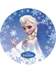 Disque azyme Elsa La Reine des Neiges™ 20.5 cm