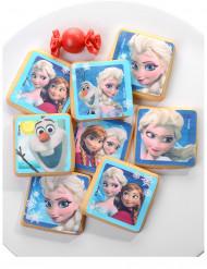 12 Décorations en sucre pour biscuits La Reine des Neiges™