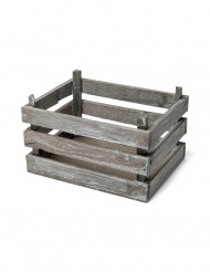 Petite cagette déco en bois 11x20x15cm