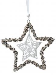 Etoile de Noël à suspendre 25 cm