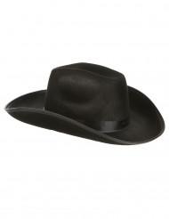 Chapeau de cowboy noir adulte