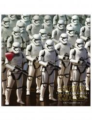 20 Serviettes en papier Star Wars VII™ 33 x 33 cm