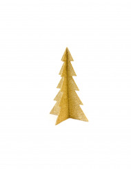 Décoration sapin de noël doré 19 cm