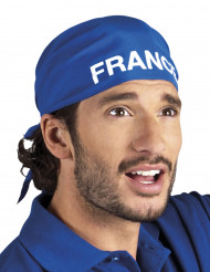 Bandana bleu supporter France adulte