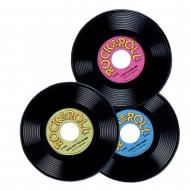 3 Disques vinyles 23 cm
