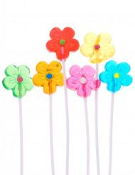 Bouquet de 6 sucettes fleur