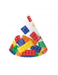 8 Chapeaux de fête Jeu de construction