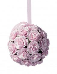 Boule de roses en papier 11 cm