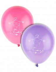 8 Ballons Ballerine