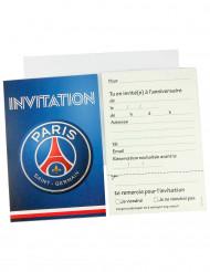 6 Cartes d'invitation + 6 enveloppes PSG™