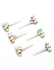 6 Sans gênes trendy multicolores