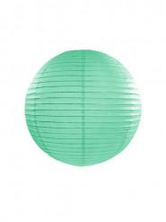 Lanterne japonaise menthe 25 cm