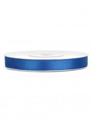 Ruban satin 6 mm bleu roi 25 mètres