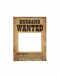 2 Pancartes Photobooth Wanted