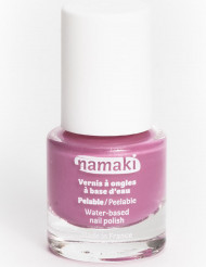 Vernis à ongles base eau pelable rose 7,5 ml Namaki Cosmetics ©