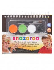 Mini kit maquillage mixte Snazaroo™ avec livret Halloween