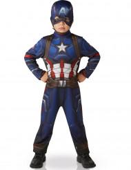 Déguisement Classique Captain America™ garçon - Civil War