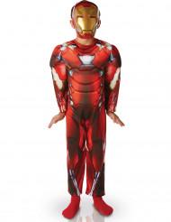 Déguisement rembourré Luxe Iron Man™ garçon - Civil War