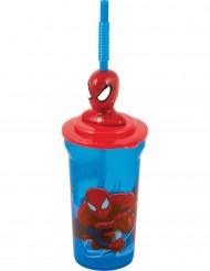 Verre avec paille Spiderman™