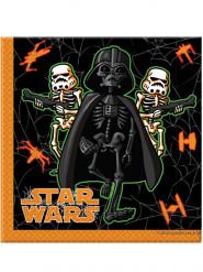 20 Serviettes 2 plis Halloween Star Wars™ 33 x 33 cm