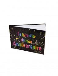 Livre d'or Anniversaire Feux d'artifice 21.5 x 15.5 cm