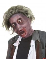 Cagoule zombie avec Perruque adulte Halloween