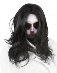 Cagoule fantôme avec Perruque adulte Halloween