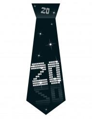 Cravate en carton avec élastique 20 ans VIP