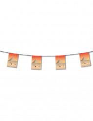 Guirlande papier Egypte 4 m
