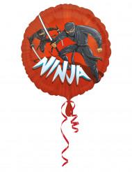 Ballon aluminium Ninja