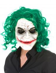 Masque latex arlequin psychopathe adulte Halloween