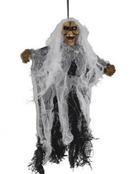 Décoration à suspendre squelette possédé 25 cm Halloween