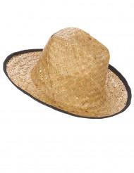 Chapeau Cowboy avec rebord noir adulte