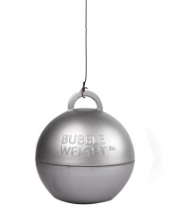 Poids ballon hélium argent