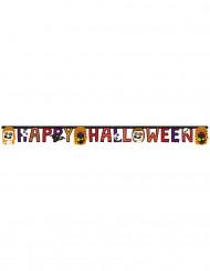 Guirlande Happy Halloween petits monstres