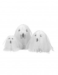 3 Centres de table fantôme Halloween