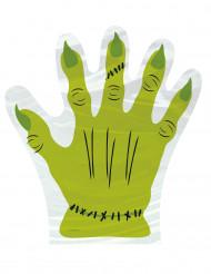 10 Sacs mains Frankensten Halloween