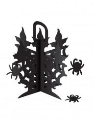 Centre de table chandelier avec araignées