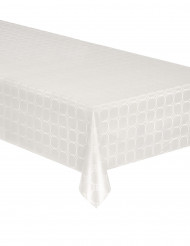 Nappe en rouleau papier damassé blanche