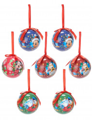7 Boules de Noël Mickey™ 7,5 cm