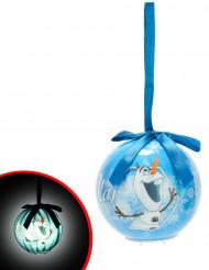 Boule de Noël lumineuse Olaf La Reine des Neiges™ 7,5 cm
