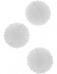 6  Napperons en papier dentelle 21,5 cm