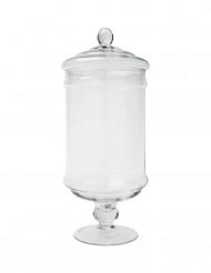 Bonbonnière verre 14,5 x 34 cm
