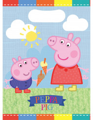 8 Sacs de fête Peppa Pig™