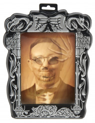 Cadre lenticulaire squelette 19 x 25 cm